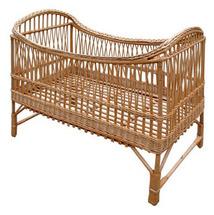 Кроватка детская плетеная из лозы