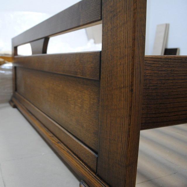Кровать деревянная дубовая АРТМебель - Модерн - 140 х 200 (190)
