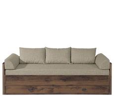 Ліжко розкладне Гербор - Індіана -_JLOZ_80/160+матрас+подушки