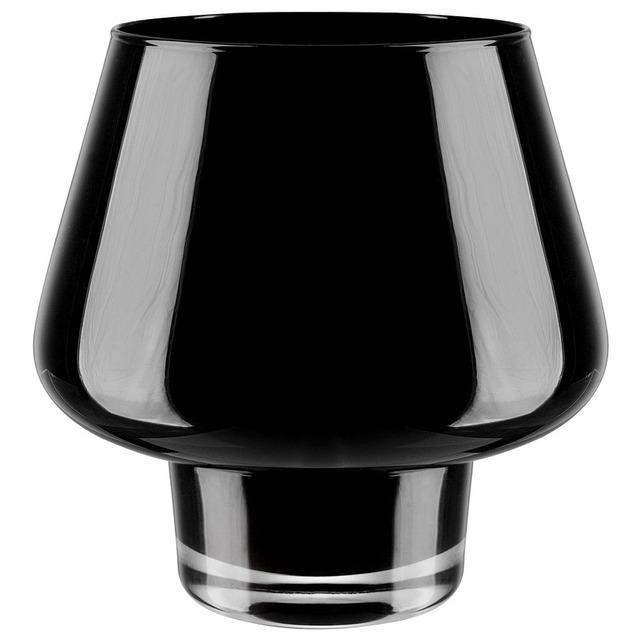 Ваза стеклянная черная BRW - THK-046680