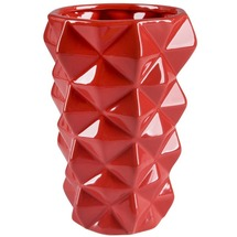 Ваза керамічна червона BRW - THK-050980