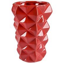 Ваза керамическая красная BRW - THK-050980