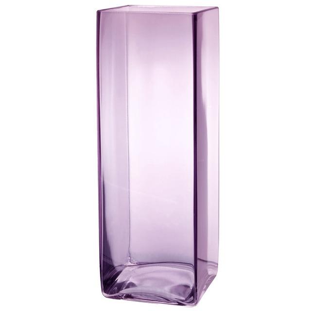 Ваза высокая стеклянная прозрачная BRW - THK-051998