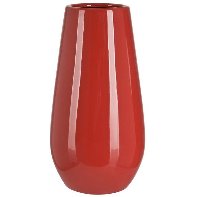 Ваза керамическая красная BRW - THK-051077
