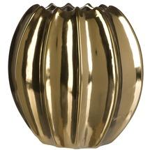 Ваза керамічна золотая BRW - THK-053766