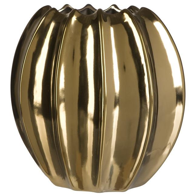 Ваза керамическая золота BRW - THK-053766