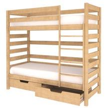 Двоярусне дитяче ліжко Woodman