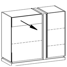 Комод Taranko - Siena - SI-K2 L,P komoda