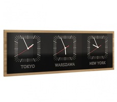 Часы MEBIN - Smart - Zegar potrojny poziomy