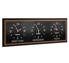 Часы MEBIN - Verano - Zegar potrojny poziomy