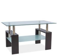 Журнальный столик стеклянный SIGNAL - Lisa III