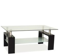 Журнальний столик скляний SIGNAL - Lisa Basic II