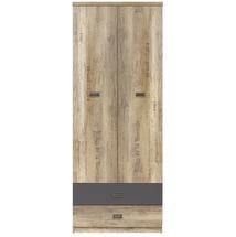 Шафа 2-х дверна BRW - Malcolm - SZF2D2S