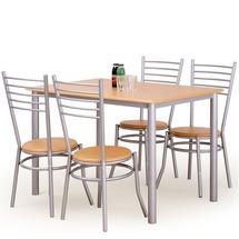 Столовый комплект Halmar - ELBERT (стол + 4 стула)