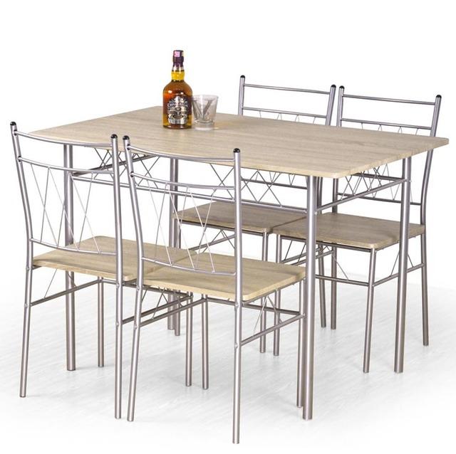 Столовый комплект Halmar - FAUST (стол + 4 стула)