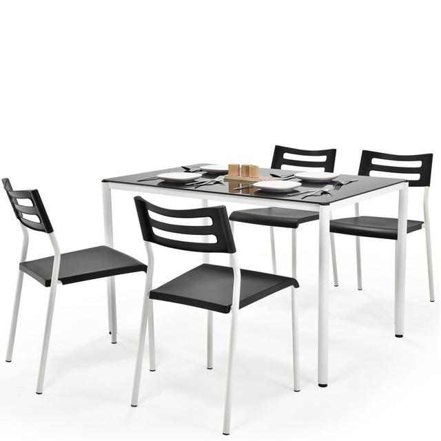 Столовий комплект Halmar - FIGARO (стіл + 4 стільці)
