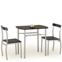 Столовый комплект Halmar - LANCE (стол + 2 стула)