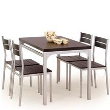 Столовый комплект Halmar - MALCOLM  (стол + 4 стула)