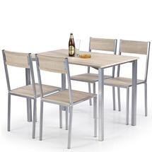 Столовый комплект Halmar - RALPH (стол + 4 стула)