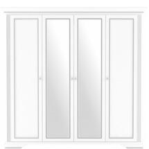 Шафа 4-х дверна Гербор - Вайт - 4D(2S)