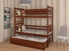 Трьохярусне дитяче ліжко Дрімка - Шрек тріо 80х190