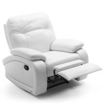 М'яке крісло з функцією гойдання та замком Gala Collezione - Fino - fotel 1TVblok