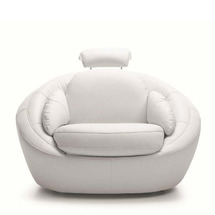 М'яке крісло з обертанням Gala Collezione - Planet - fotel 1 O
