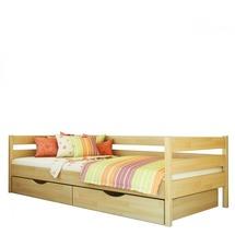 Деревянная односпальная кровать Эстелла - Нота - 80х190 (щит)