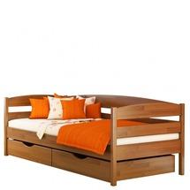 Деревянное односпальная кровать Эстелла - Нота Плюс - 80х190 (щит)