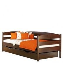Деревянное односпальная кровать Эстелла - Нота Плюс - 90х200 (щит)
