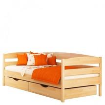 Деревянное односпальная кровать Эстелла - Нота Плюс - 90х200 (массив)