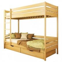 Двухъярусная кровать Эстелла - Дуэт 80х190 (массив)