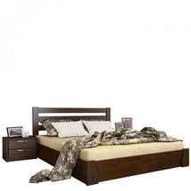 Дерев'яне ліжко Естелла - Селена 140х200 (щит)