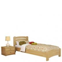 Дерев'яне ліжко Естелла - Венеція люкс 90х200 (щит)