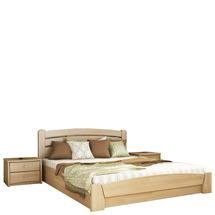 Дерев'яне ліжко Естелла - Селена аурі 140х200 (щит)