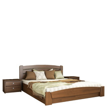 Дерев'яне ліжко Естелла - Селена аурі 120х200 (масив)