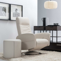 Мягкое кресло с функцией релакс Vero - Melissa - Fotel 1 z f. relax, obrot. (V.I)
