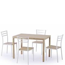 Столовый комплект Halmar - AVANT (стол + 4 стула)