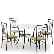 Столовый комплект Halmar - MERTON (стол + 4 стула)