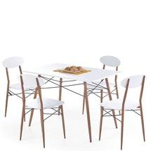 Столовый комплект Halmar - RECORD (стол + 4 стула)