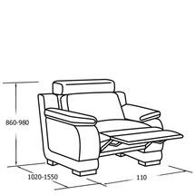 М'яке крісло Vero - Malva - 1RPm2