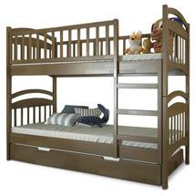 Двухъярусная детская кровать Arbor Drev - Смайл - 80х190 (сосна)