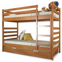 Двухъярусная детская кровать Arbor Drev - РИО - 90х200 (бук)