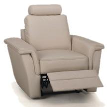 М'яке крісло з реклайнером Meblomak - Breno - 1F