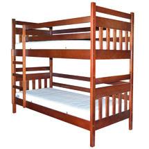 Двухъярусная детская кровать ТМ Лев - Умка 80 х 200 (бук)
