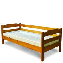 Кровать детская ТМ Лев - Милена 80 х 200 (бук)