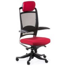 Кресло офисное Special4You - FULCRUM DEEP RED FABRIC, BLACK MESH (E0635)