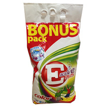 Порошок для стирки E Active Plus Color Bonus Pack