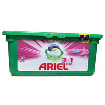 Капсулы для стирки Ariel 3 in 1 Mountain Lenor 30 шт