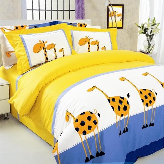 """Постільна білизна ТЕП - 604 """"Жирафи"""" (двоспальний)"""
